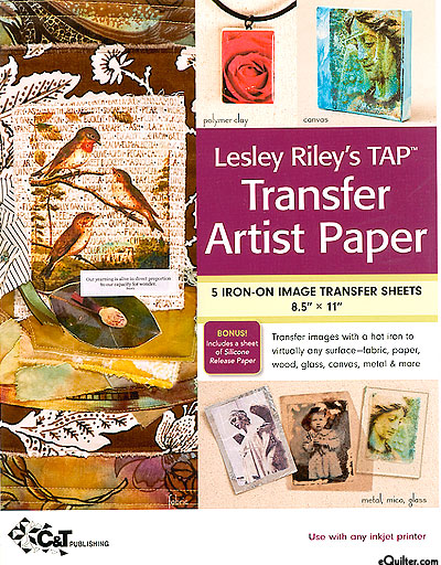 Lesley Riley's TAP Transfer Artist Paper - White