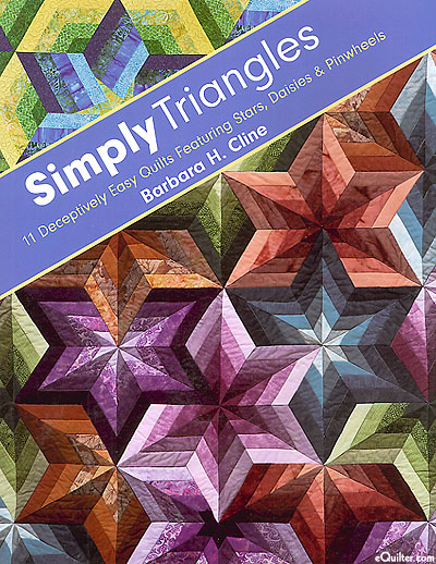 Simply Triangles: 11 Deceptively Easy Quilts