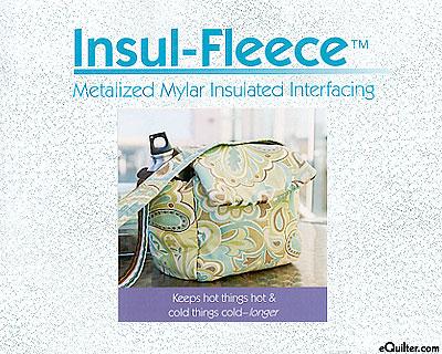 Insul-Fleece - Metalized Mylar Insulated Interfacing