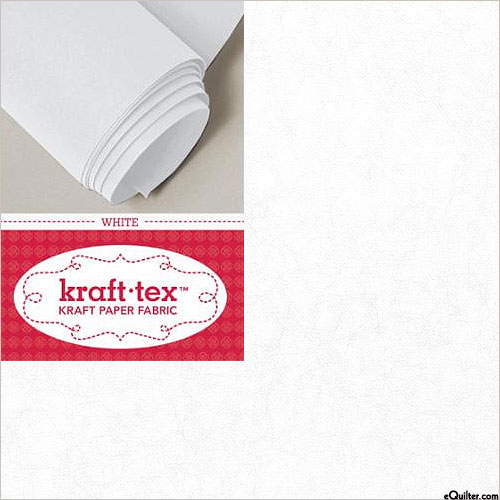 Kraft•Tex™ - Paper Fabric Roll - White