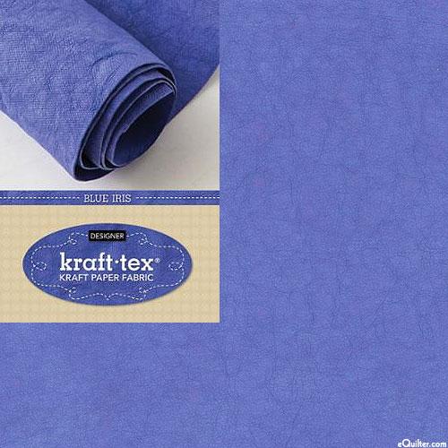 Kraft•Tex™ - Paper Fabric Roll - Blue Iris