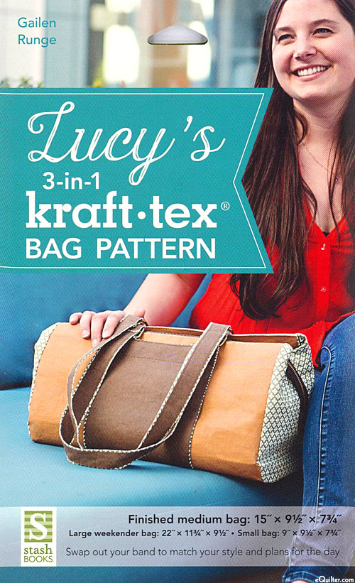 Lucy's 3-in-1 Kraft-Tex Bag - Pattern by Betsy LaHonta