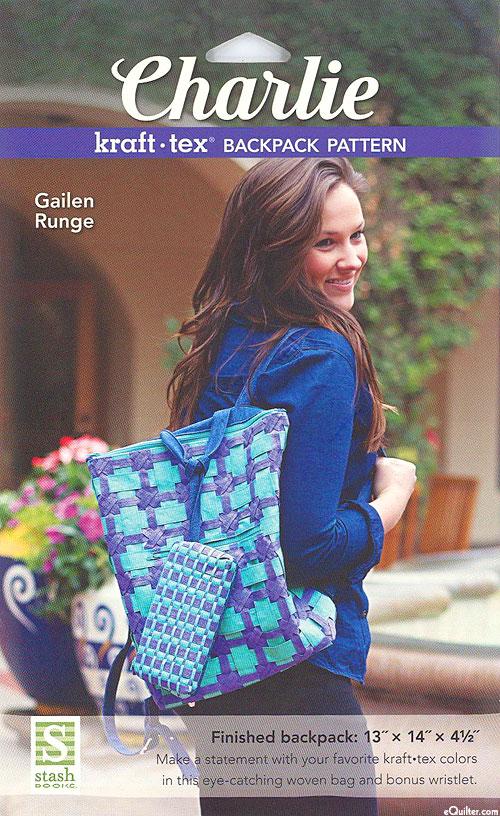 Charlie Kraft-Tex Backpack - Pattern by Gailen Runge
