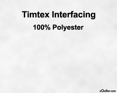 Timtex Interfacing - White