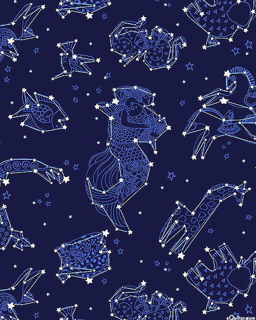 Celestial Magic - Laurel's Constellations - Navy