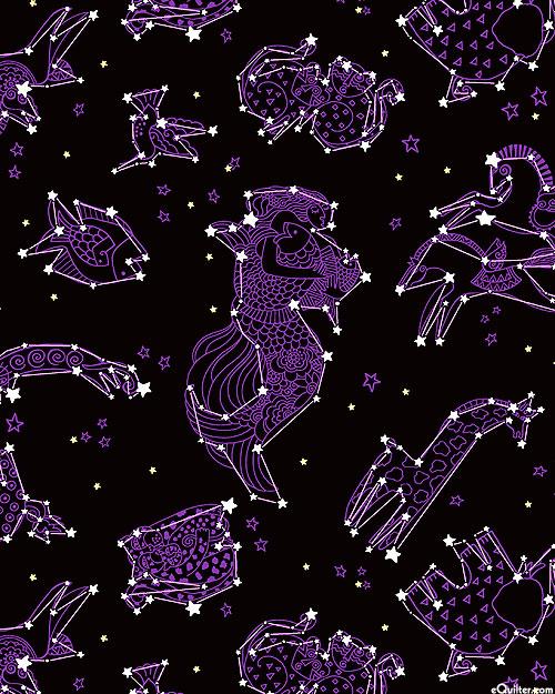 Celestial Magic - Laurel's Constellations - Ink Black