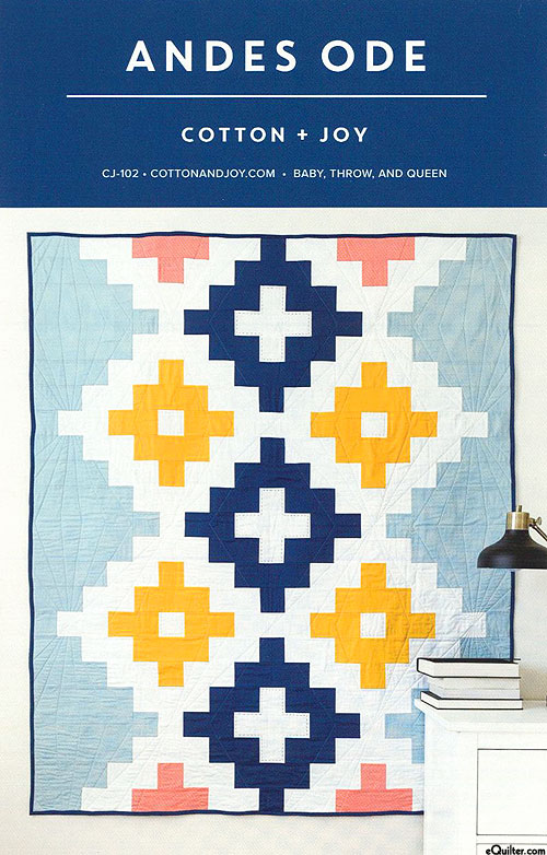 Andes Ode - Quilt Pattern by Cotton + Joy