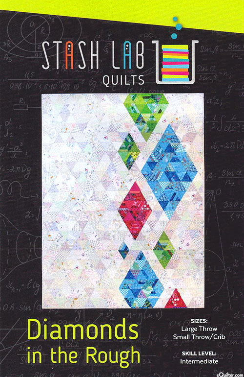 Diamonds in the Rough - Quilt Pattern by Stash Lab Quilts