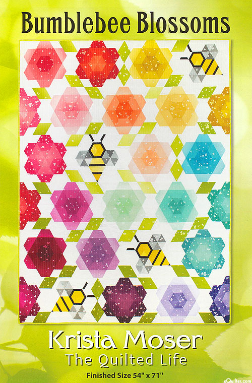Bumblebee Blossoms - Quilt Pattern by Krista Moser