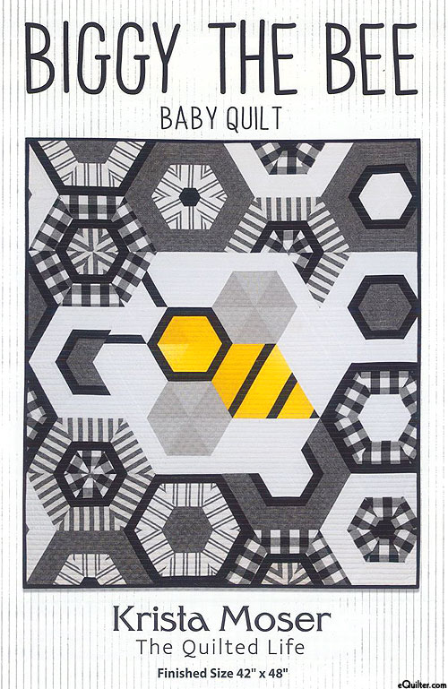 Biggy The Bee - Quilt Pattern by Krista Moser