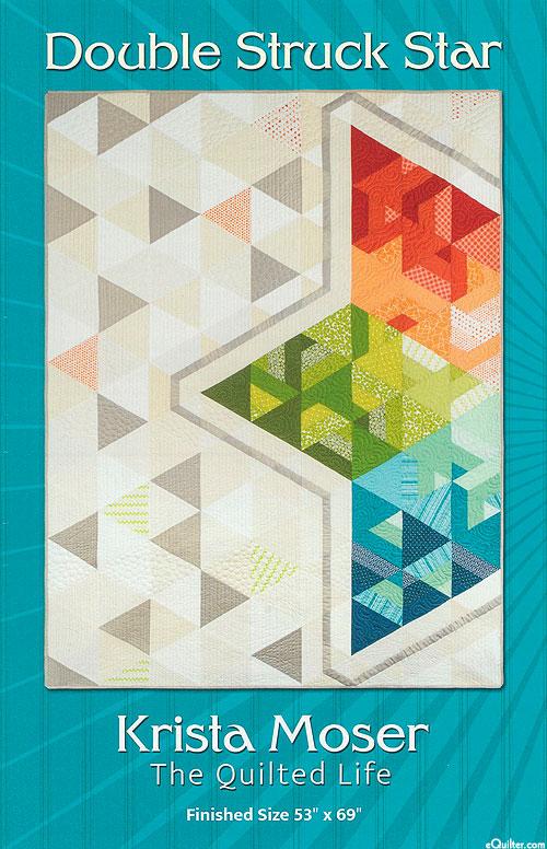 Double Struck Star - Quilt Pattern by Krista Moser