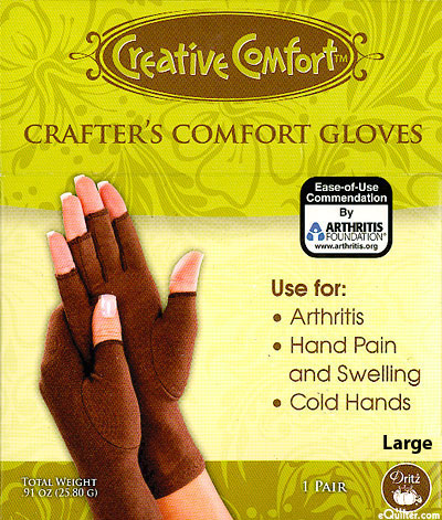 Creative Comfort - Crafter's Comfort Gloves - Large