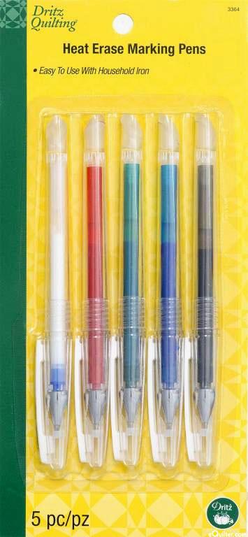 Heat Erase Marking Pens