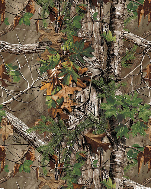 Real Tree Camouflage - Extra Oak - Earth Brown