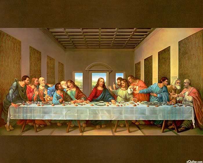 "The Last Supper - 36"" x 44"" PANEL - DIGITAL"