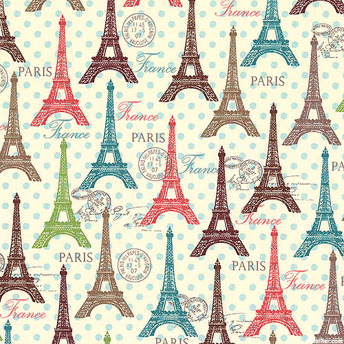 Paris Spring Expo - Eiffle Tower Tour - Cream
