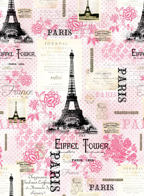 Pink Paris - Eiffel Tower Confection - Pastel Pink