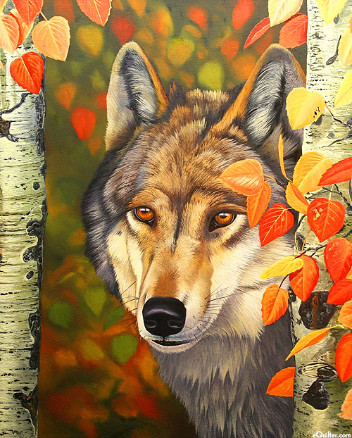 """Colors of the Wolf - 36"""" x 44"""" Panel - Digital Print"""
