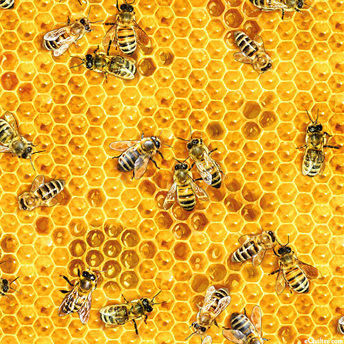 Bees & Flowers - Honey Makers - Amber