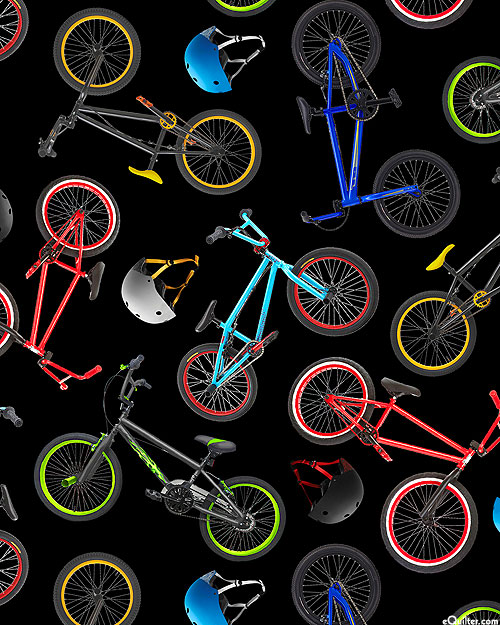 In Motion - BMX Bikes - Black