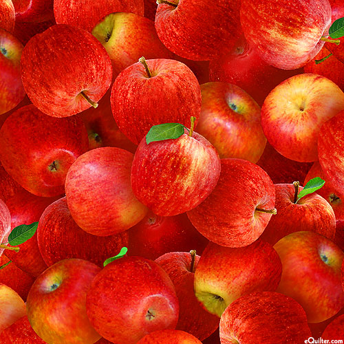 Food Festival - Red Delicious Apples - Very Red