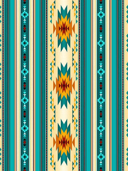 Tucson - Running Horizon Stripe - Teal