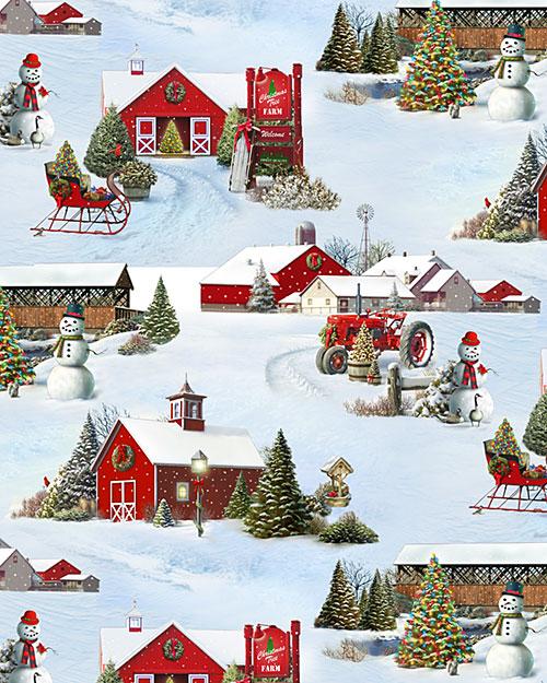 'Tis the Season - Midwestern Winter - Ice White