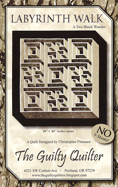 Labyrinth Walk - Quilt Pattern by Christopher Florence