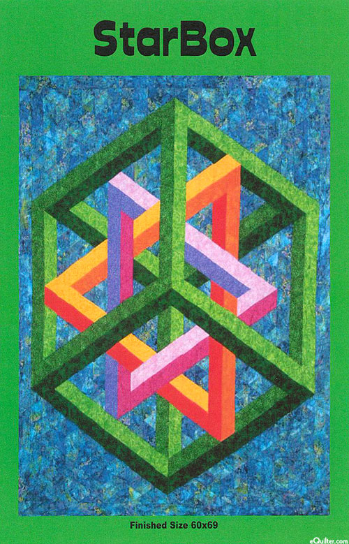 StarBox - Quilt Pattern by Ruth Ann Berry
