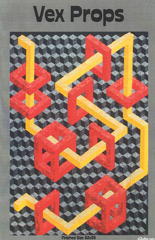 Vex Props - Quilt Pattern by Ruth Ann Berry