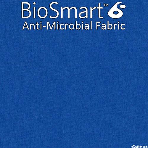 "BioSmart Anti-Microbial Fabric - Blue - COTTON/POLY - 60"" WIDE"