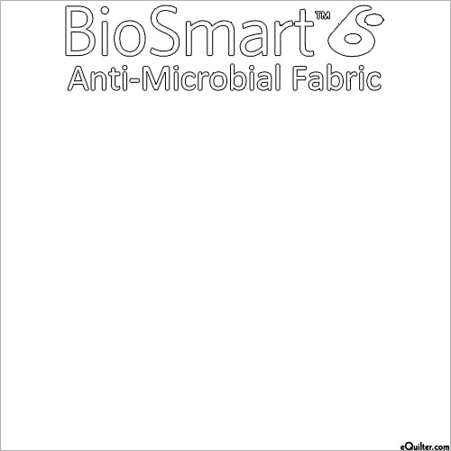 "BioSmart Anti-Microbial Fabric - White - COTTON/POLY - 60"" WIDE"