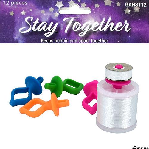 Galaxy Bobbin & Thread Stay Together Clips