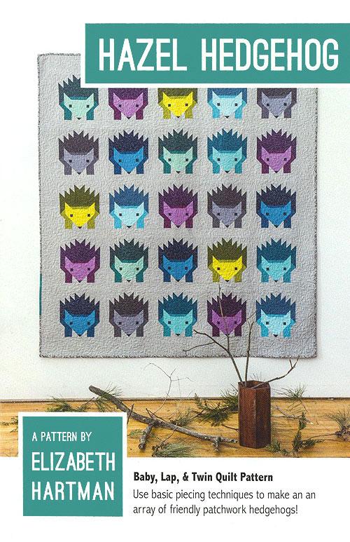 Hazel Hedgehog - Quilt Pattern by Elizabeth Hartman