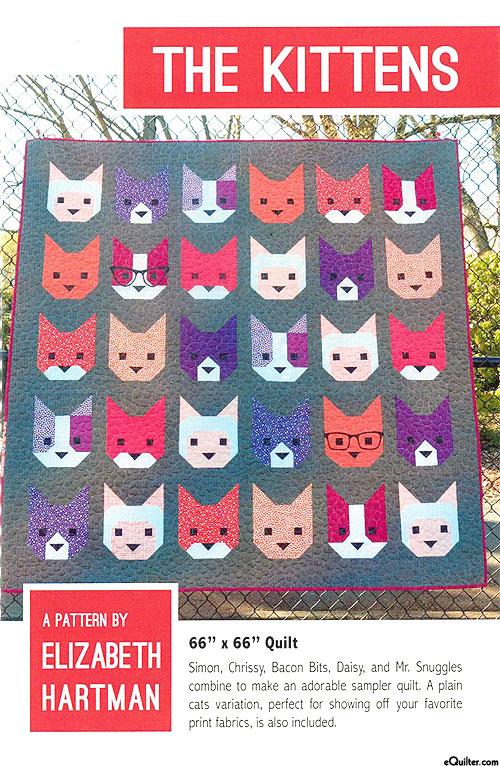 The Kitties - Quilt Pattern by Elizabeth Hartman