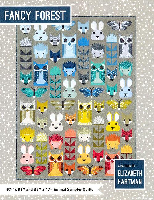 Fancy Forest - Quilt Pattern by Elizabeth Hartman