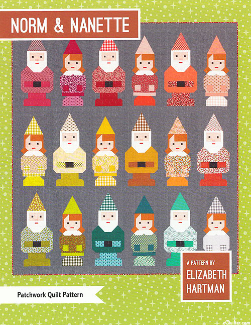 Norm & Nanette - Quilt Pattern by Elizabeth Hartman