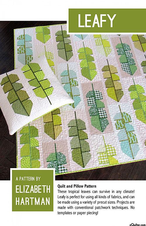 Leafy - Quilt Pattern by Elizabeth Hartman