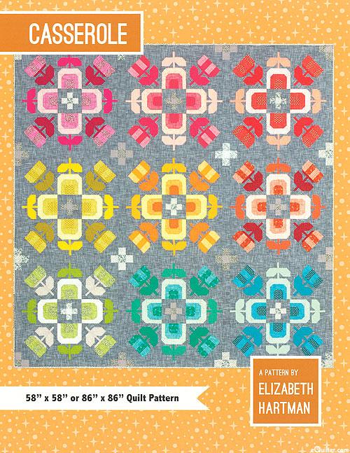 Casserole - Quilt Pattern by Elizabeth Hartman