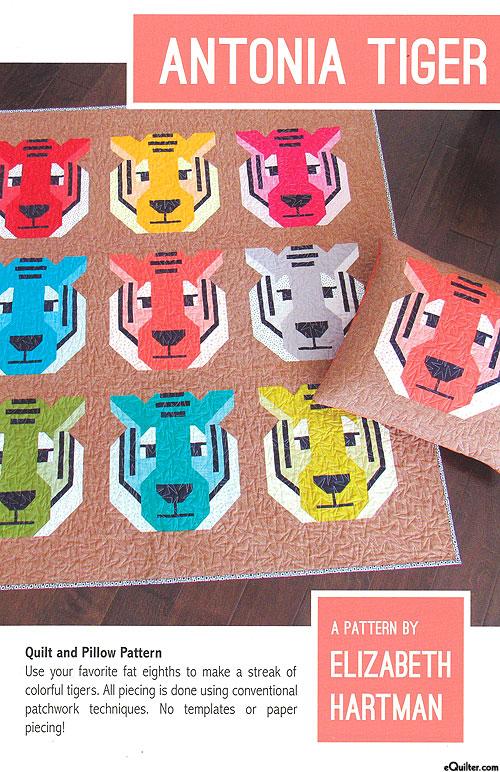 Antonia Tiger - Quilt Pattern by Elizabeth Hartman