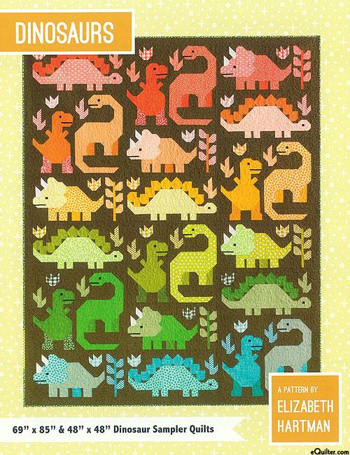 Dinosaurs - Quilt Pattern by Elizabeth Hartman
