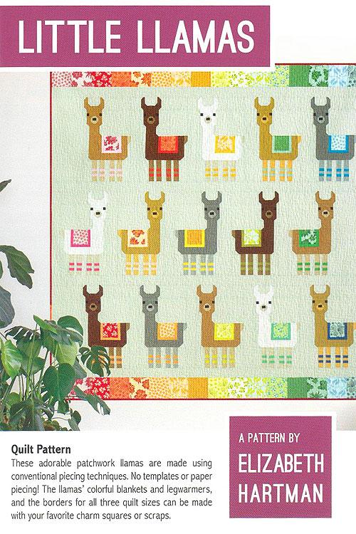 Little Llamas - Pattern by Elizabeth Hartman