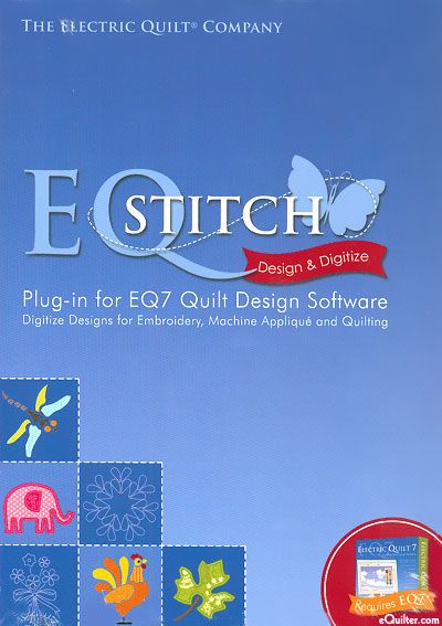 EQ Stitch - Embroidery, Machine Appliqué and Quilting Software