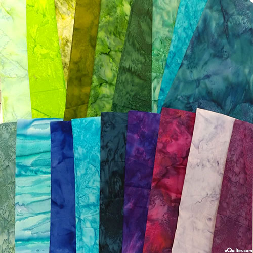 eQuilter's Warehouse SCRAP PACK – COOL Hand-Dyes