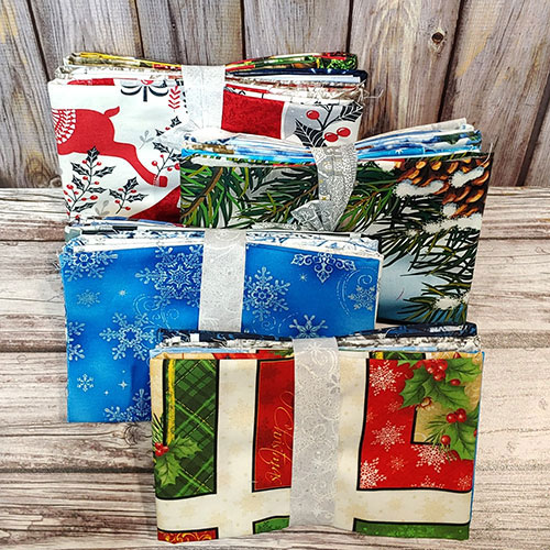 Booty Pack - eQuilter CHRISTMAS/WINTER Assorted Scraps