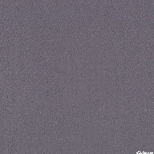 """Solid Sateen - Pewter Gray - 320 ct - 116"""" QUILT BACKING"""