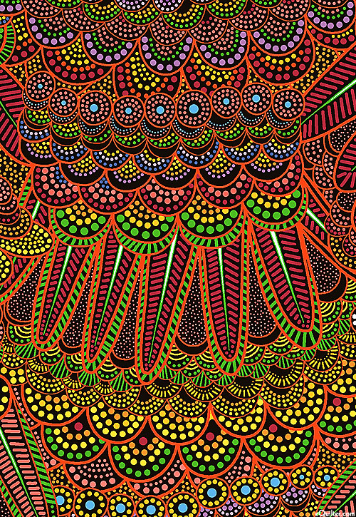 Goanna Walkabout - Feathers & Scales - Dk Red
