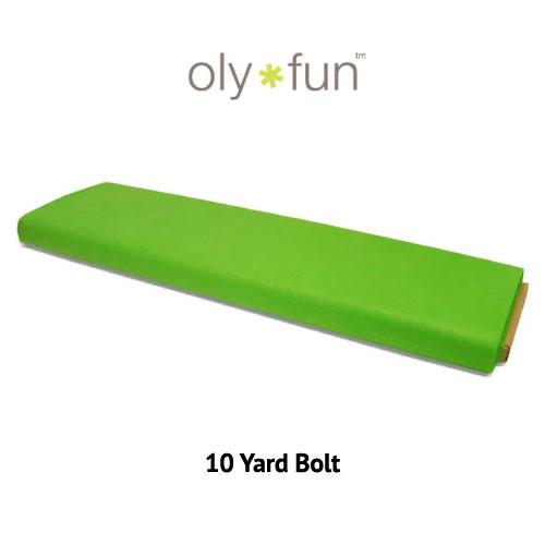 """Oly-Fun Polypropylene - Kiwi Green - 60"""" WIDE - 10 YD BOLT"""