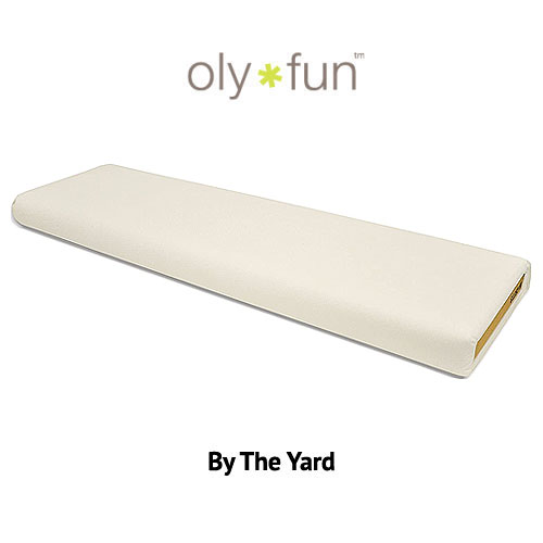 """Oly-Fun Polypropylene - Ivory - 60"""" WIDE - BY THE YARD"""