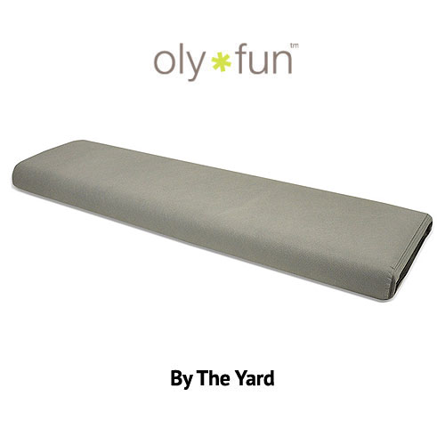 "Oly-Fun Polypropylene - Slate Gray - 60"" WIDE - BY THE YARD"